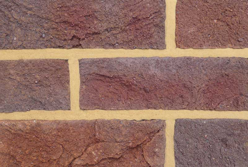 Coleford forest royal mixed brick colour sample