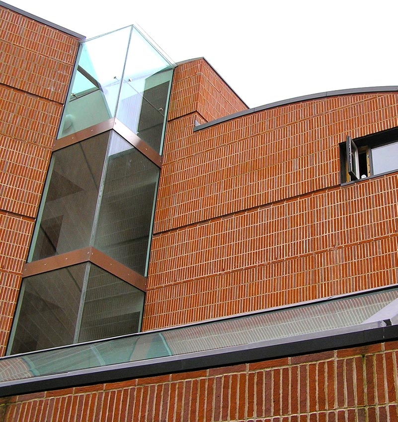 linear brick example, Keeble College, Oxford