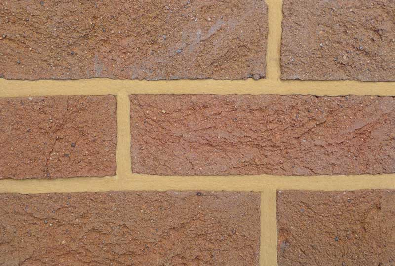 Coleford mixed Bedford grey brown brick colour sample