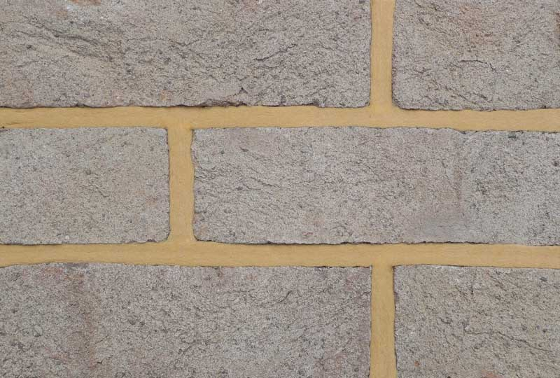 Coleford mixed gloucester grey brick colour sample