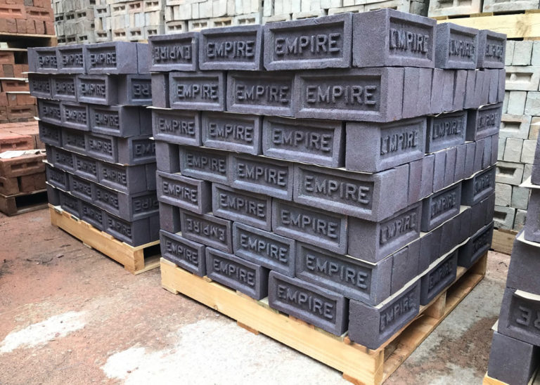 two pallets of Coleford bricks
