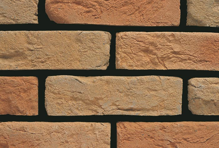 example of the rustic finished brick